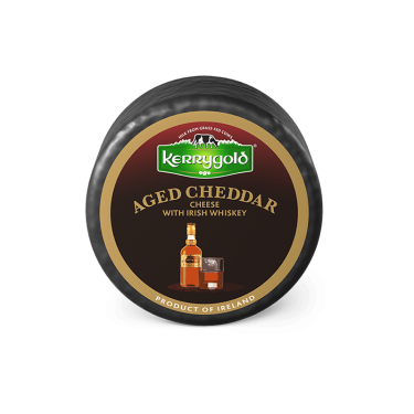 Aged Cheddar with Irish Whiskey Cheese