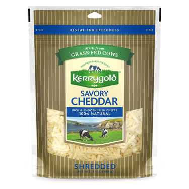 Savory Shredded Cheddar Cheese